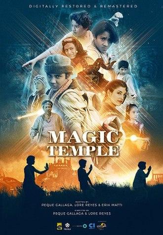 Magic Temple - Image: Magictempleposter