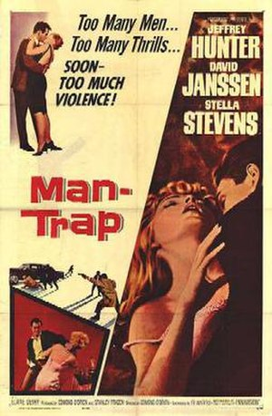 Man-Trap - Theatrical release poster