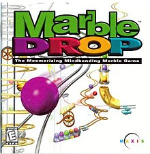 An in-game screenshot of Marble Drop
