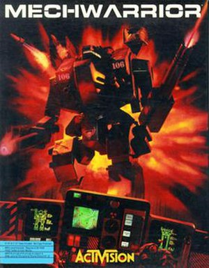 MechWarrior (1989 video game) - Image: Mechwarrior BOXCOVER