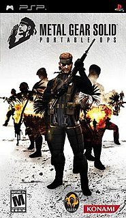 <i>Metal Gear Solid: Portable Ops</i> 2006 action-adventure stealth video game