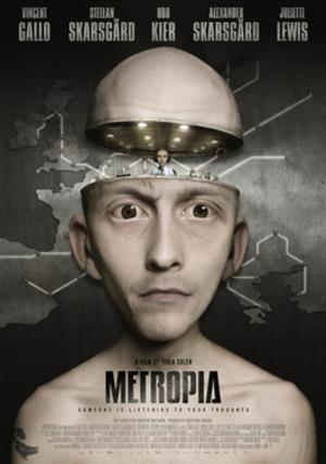 Metropia (film) - Theatrical release poster