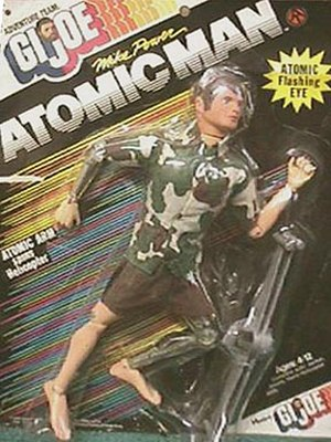 G.I. Joe - Mike Power, Atomic Man