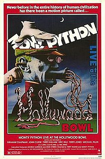 <i>Monty Python Live at the Hollywood Bowl</i> 1982 film by Ian MacNaughton