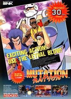 <i>Mutation Nation</i> 1991 video game