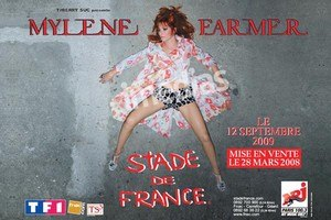 Mylène Farmer en tournée - Image: Mylène Farmer fifth tour