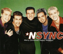 nsync merry christmas happy holidays official single coverpng