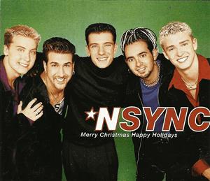 Merry Christmas, Happy Holidays - Image: NSYNC Merry Christmas Happy Holidays (Official Single Cover)