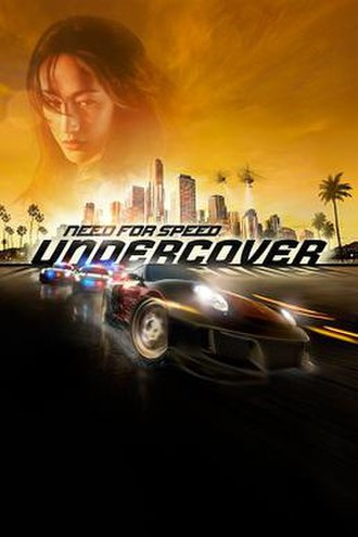 Need for Speed: Undercover - North American cover art featuring a Porsche 911 GT2