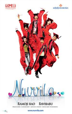 Nuvvila - Poster