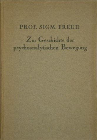 The History of the Psychoanalytic Movement - The 1924 German edition