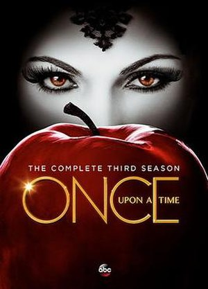 Once Upon a Time (season 3) - DVD cover