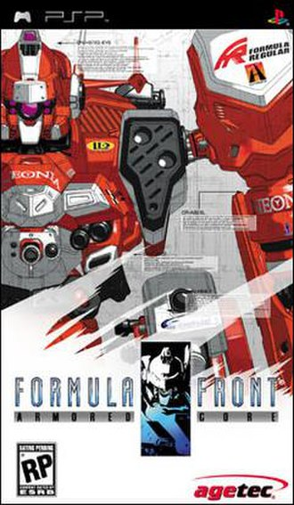 Armored Core: Formula Front - Image: PSP Armored Core Fomula One Front Cover