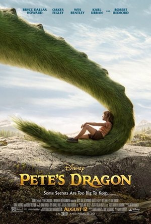 Pete's Dragon (2016 film) - Theatrical release poster