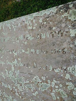 Rock Castle (Hendersonville, Tennessee) - Marker of the great man, Senator, General, Revolutionary War hero, Indian Negotiator