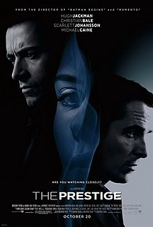 2006 British-American mystery thriller film directed by Christopher Nolan
