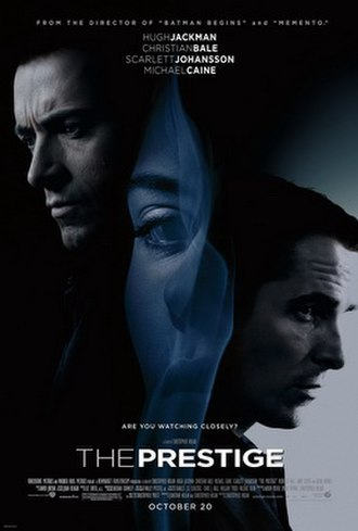 The Prestige (film) - Theatrical release poster