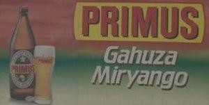 Bralima Brewery - Primus beer is Bralima's main product.