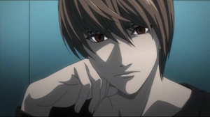Light as he appears in the anime