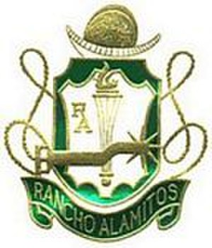 Rancho Alamitos High School - one of many renditions of the Rancho Alamitos shield