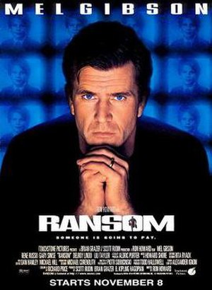 Ransom (1996 film) - Theatrical release poster
