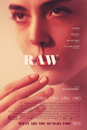 Raw (film) - Theatrical release poster