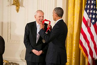 Robert B. Silvers - Silvers receives a National Humanities Medal from Barack Obama in 2013