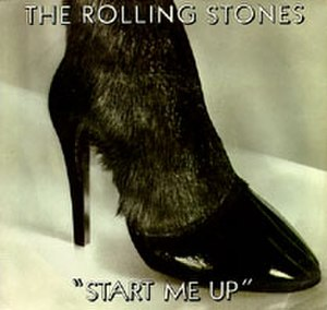 Start Me Up - Image: Roll Stones Single 1981 Start Me Up