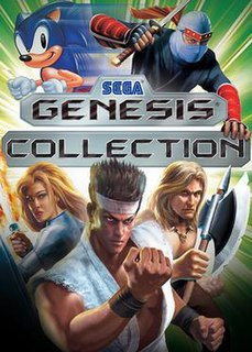<i>Sega Genesis Collection</i> 2006 compilation of video games