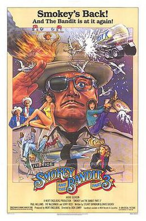 Smokey and the Bandit Part 3 - Theatrical release poster
