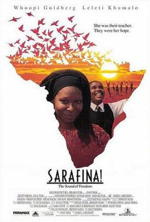 Sarafina! (film) - Theatrical release poster
