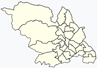 Areas of Sheffield
