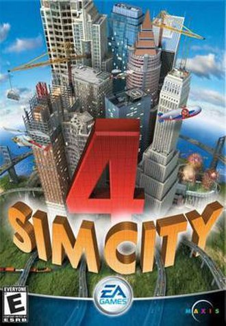 SimCity 4 - PC version game cover