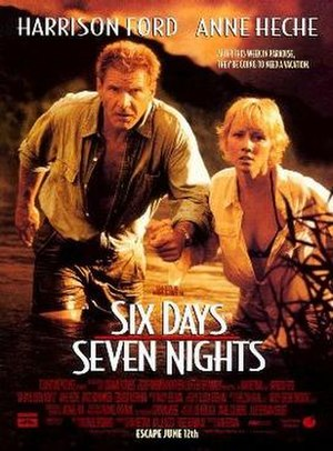 Six Days, Seven Nights - Theatrical release poster