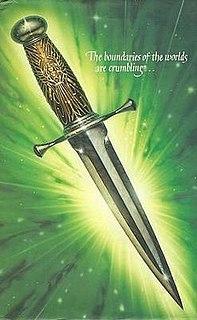 <i>The Subtle Knife</i> 1997 novel by Philip Pullman