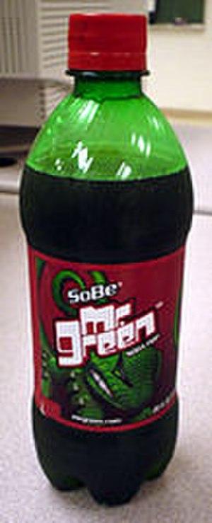 SoBe - Image: Sobe Mr Green 20 oz bottle