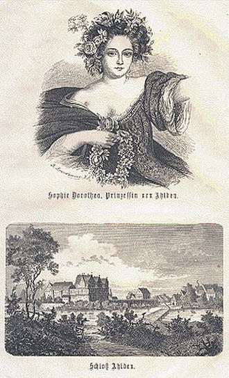 Sophia Dorothea of Celle - Image: Sophie Ahlden