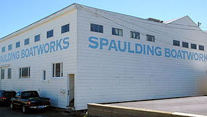 Spaulding Wooden Boat Center - The Spaulding Wooden Boat Center in Sausalito (2007)