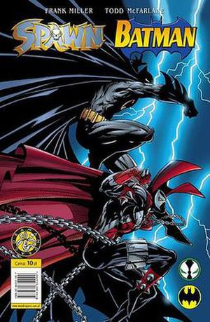 Spawn (comics) - Cover of Spawn/Batman Polish edition. Art by Todd McFarlane.