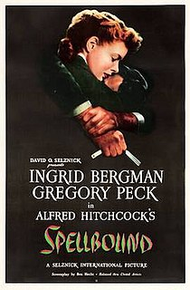 <i>Spellbound</i> (1945 film) 1945 film by Alfred Hitchcock