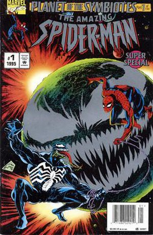Planet of the Symbiotes - Image: Spider man planet