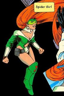 Spider Girl DC Comics character