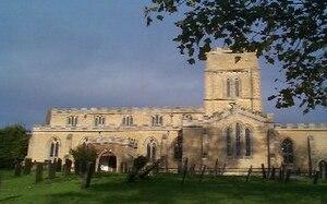 St Andrew's Church, Langar - St Andrew's Church, Langar-cum-Barnstone