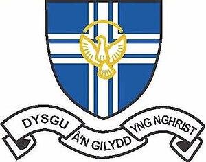 St Richard Gwyn Catholic High School, Flint - Image: St Richard Gwyn Catholic High School, Flint (shield)
