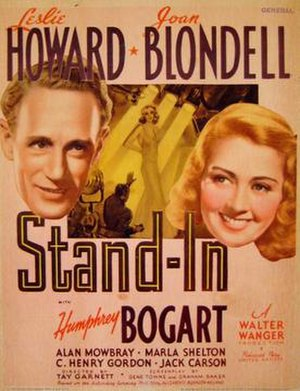 Stand-In - Stand-In (1937, Movie Poster)