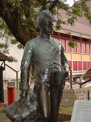 Frank Swettenham - A statue of Swettenham within the compound of Muzium Negara at Kuala Lumpur, Malaysia.