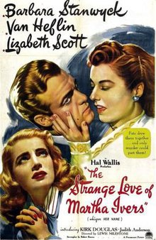 Image result for the strange love of martha ivers (1946)