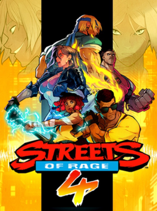 <i>Streets of Rage 4</i> 2020 video game