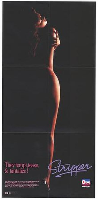 Stripper (film) - Theatrical release poster