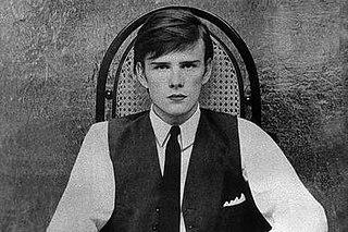 Stuart Sutcliffe Scottish-born artist and musician